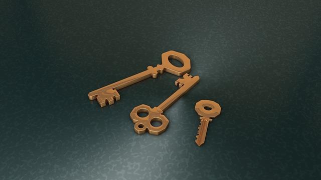 typy klíčů