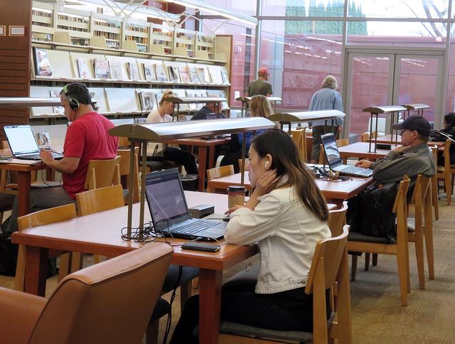 knihovna na studium