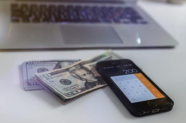 mobilní kalkulačka