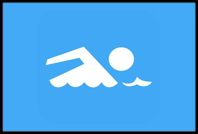 značka plavání